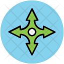 Throwing Stars Ninja Icon