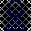 Thug Crime Man Icon