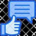 Thumb Like Feedback Icon