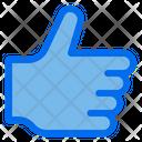 Thumb Like Gesture Icon