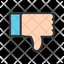 Thumb Down Dislike Icon