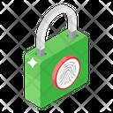 Thumb Lock Digital Lock Padlock Icon