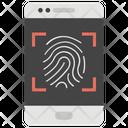 Thumb Passcode Mobile Password Thumb Scanner Icon