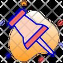 Thumb Pin Pin Tack Icon