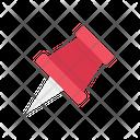 Thumb Pin Pushpin Tack Icon