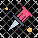 Thumb Pin Thumbtack Paper Pin Icon