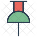 Thumb Pin Attach Pin Icon