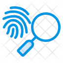 Thumb Scanner Search Icon