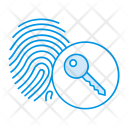 Thumb Scanner Key Icon