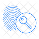 Thumb Scanner Key Icon
