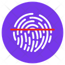 Thumb Scanning Thumb Verification Biometric Attendance Icon