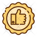Rating Support Thumbs Up Icon