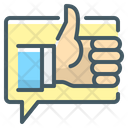 Feedback Ok Thumb Up Icon