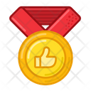 Thumb Up Medal Prize Icon