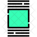 Cover Flow Thumbnails Icon