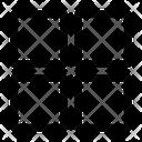 Thumbnails Grid Menu Icon