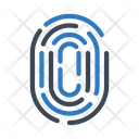 Thumbprint Identity Security Icon