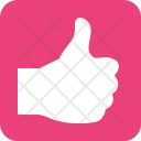 Thumbs Up Feedback Icon