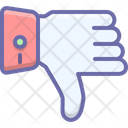 Thumbs Down Dislike Icon