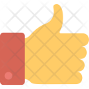 Thumbs Up Appreciation Icon