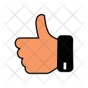 Fingers Two Gesture Icon