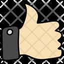 Thumbs Up Good Job Thumbs Up Symbol Icon