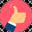 Thumbs Up Like Feedback Icon