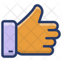 Thumbs Up Feedback Good Job Icon