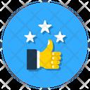 Feedback Customer Satisfaction Testimonial Icon