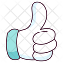 Thumbs Up Hand Gesture Thumb Gesture Icon
