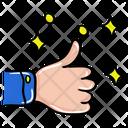 Thumbs Up Feedback Like Icon