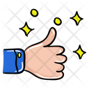 Thumbs Up Feedback Like Icon