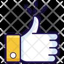 Like Thumbs Up Feedback Icon