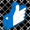 Thumbs Up Like Good Job Icon