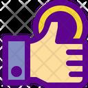 Coin Hand Icon