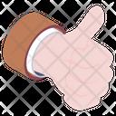 Feedback Testimonial Thumbs Up Icon