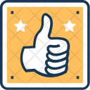Thumbs Up Hand Icon