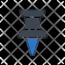 Thumbtack Pushpin Map Icon