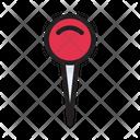 Thumbtack Pushpin Attach Icon