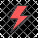 Thunder Lightning Flash Icon