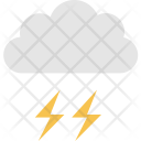 Cloud Thunder Thunderbolt Icon