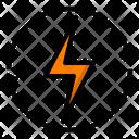 Electric Power Energy Icon