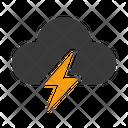 Thunder Storm Lighting Icon