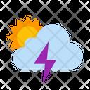 Cloud Forecast Storm Icon
