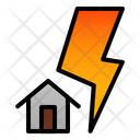 Thunder Disaster Destruction Icon