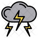 Thunder Weather Lightning Icon