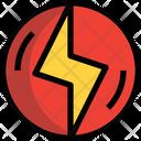 Thunder Bolt Flash Icon