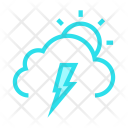 Sun Shine Cloud Icon