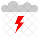 Cloud Shock Electric Icon