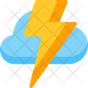 Thunder Flash Lightning Icon